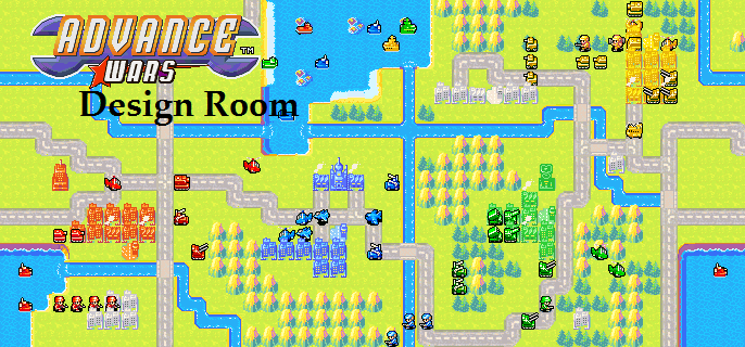 Advance Wars Design Room