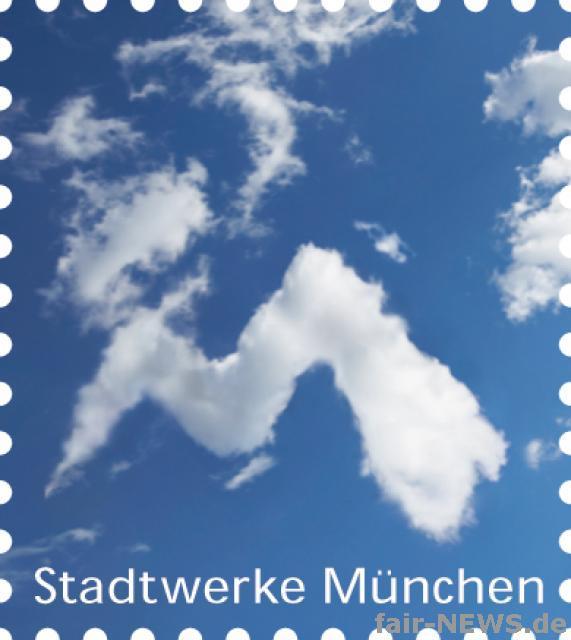 Stadtwerke München verschickt weiß-blaue Briefpost 12427210