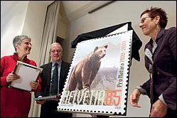Eine Briefmarke für Pro Natura 1schwe10