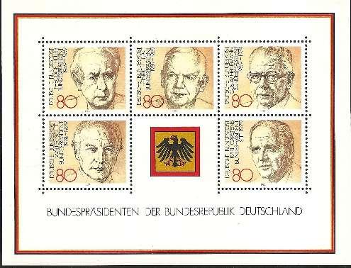 Lebende Bundespräsidenten auf Briefmarken: Ein seit Langem ungenutztes Privileg 20100610