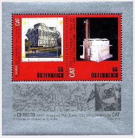 Christo- und Jean-Claude-Marke für MAK 20913010