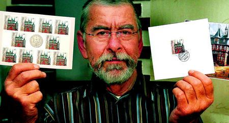 Sammler loben Briefmarke 23797410