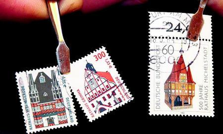 Sammler loben Briefmarke 23797411