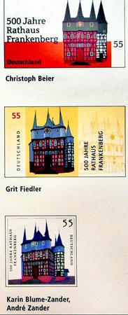 Sammler loben Briefmarke 23797412