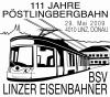 Sonderpostamt der Pöstlingbergbahn 99_29_10
