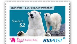 Wilbär bleibt als Briefmarke Briefm11