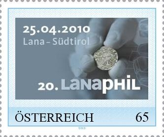 Eine neue Briefmarke zur 20. Lanaphil Lana_b10