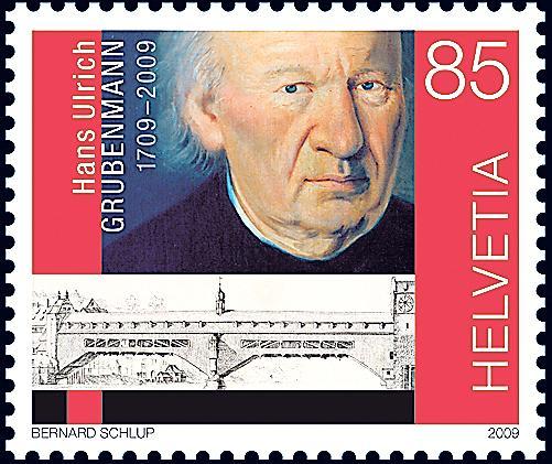 Kirchenerbauer erhält eine Briefmarke Topele10