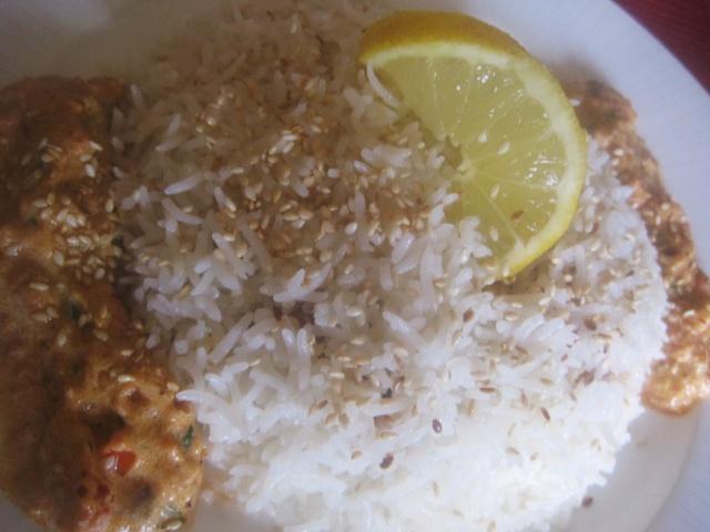 Sauce rosée à la crème sure pour accompagner Seffa Marocaine Madfouna à  base de poulet ou fruits de mer 249