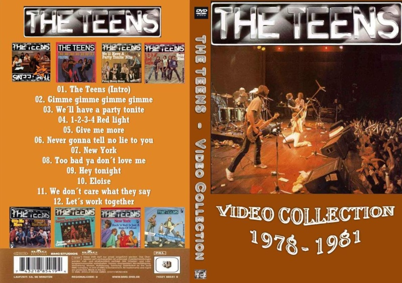 The Teens - Video Collection 1978 - 1981 Cover10