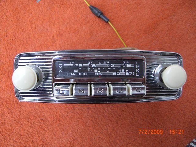 facades Autoradio low light et début 60 07022010