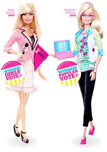 Votez pour les futurs métiers de Barbie ! Barbie14