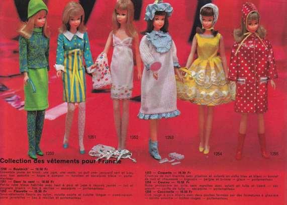 Francie, la cousine Mod de Barbie Clicha11