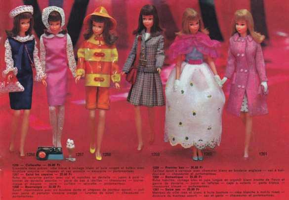 Francie, la cousine Mod de Barbie Clicha12
