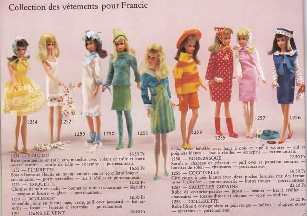 Francie, la cousine Mod de Barbie Clicha13