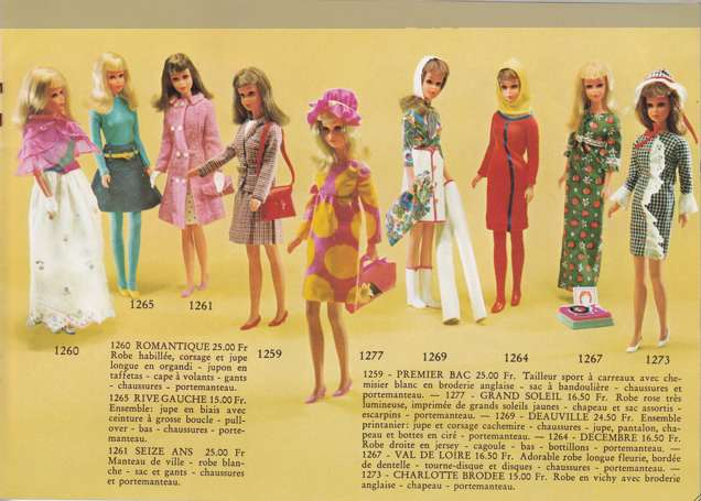 Francie, la cousine Mod de Barbie Clicha14