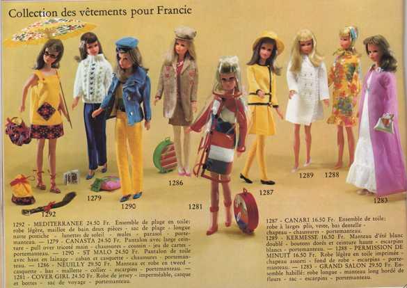 Francie, la cousine Mod de Barbie Clicha15