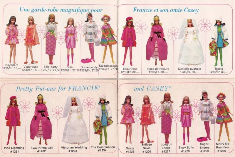 Francie, la cousine Mod de Barbie Mode9110