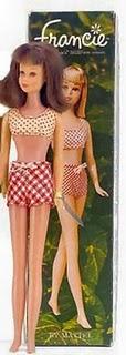 Francie, la cousine Mod de Barbie Vintag14