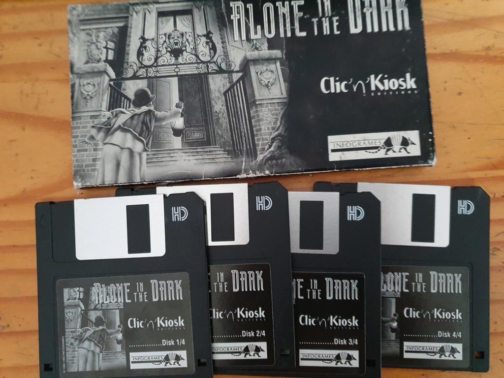 [ESTIM] Alone in the dark 1 PC - Disquette - Version Inconnue 20200219