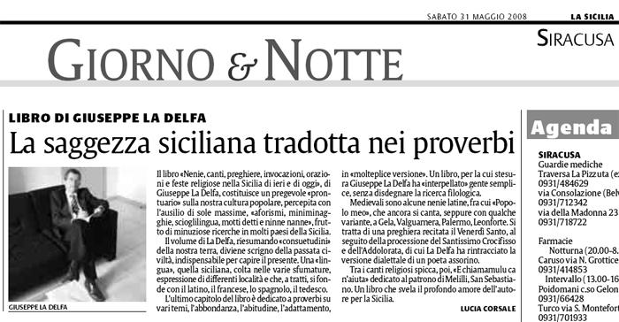 Poesie Di Natale In Dialetto Siciliano.Nenie Canti Preghiere G La Delfa