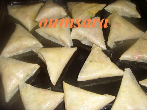 Briwates marocaines (Triangles)  aux fruits de mer Briwat11