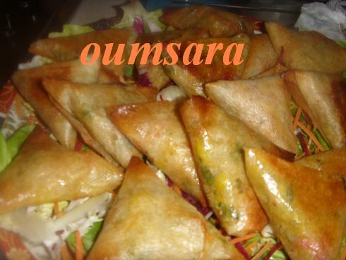 Briwates marocaines (Triangles)  aux fruits de mer Briwat12