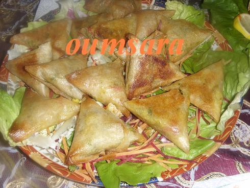 Briwates marocaines (Triangles)  aux fruits de mer Briwat14