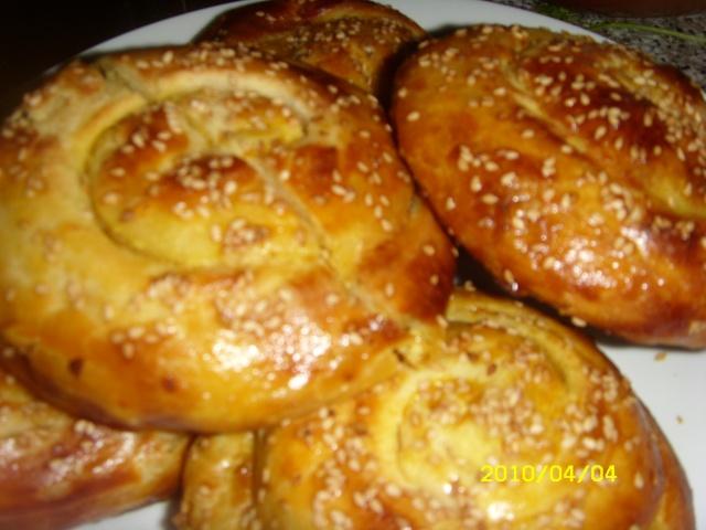 Le Melloui ou Malloui marocain farci à la viande hachée et cuit au four Melwi_29