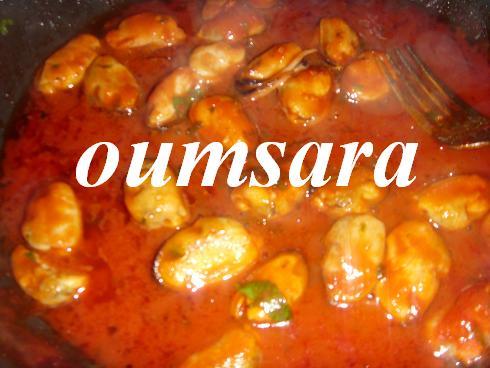 Sauce marocaine aux moules (bouzrouge) Sauce_10