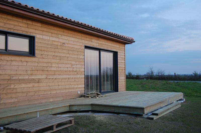 fabrication d'une terrasse en bois sur piloties+ déco 08_04_12
