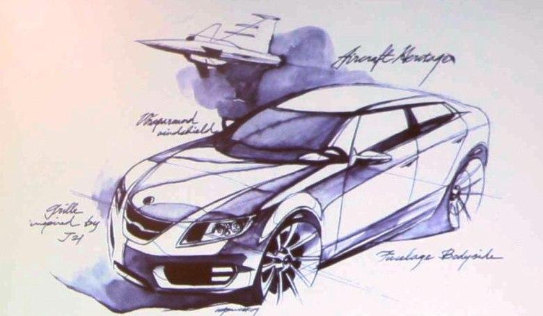 [Présentation] Le design par Saab 9-5ske10