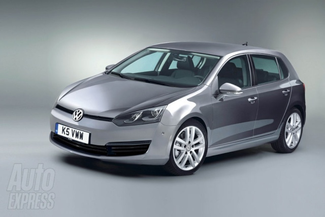 2012 - [Volkswagen] Golf VII [Mk7] Car_ph15