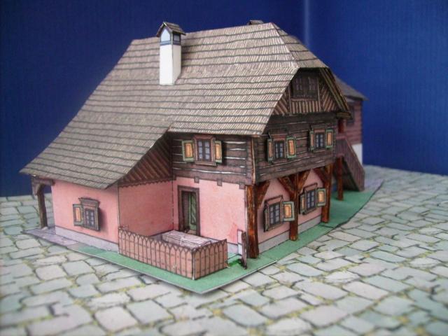 Rathaustum mit Haeuserzeile-Prag Hahol610