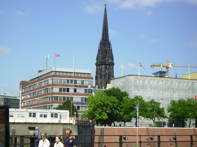 Hamburg Nikolai Turm.  Hamburg 2010. Pict8253