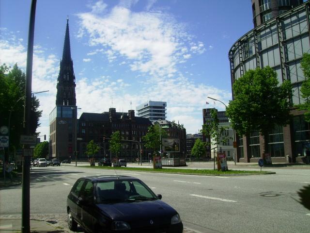 Hamburg Nikolai Turm.  Hamburg 2010. Pict8416