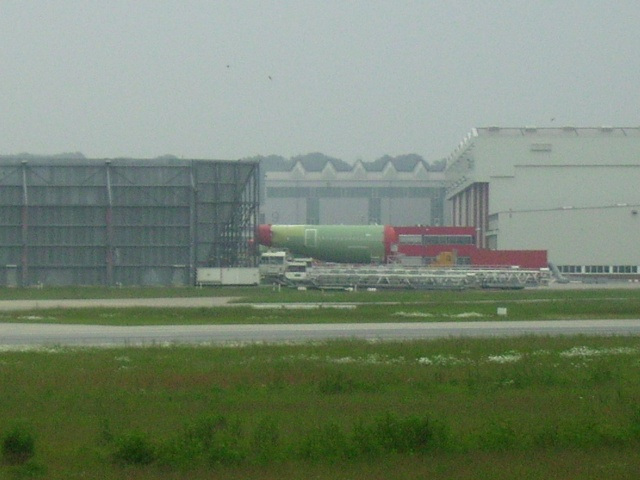Airbus A380 wird an Lufthansa übergeben Werk_312