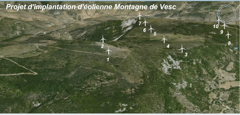 Projet d'implantation d'éoliennes sur Vesc & Dieulefit Projet11