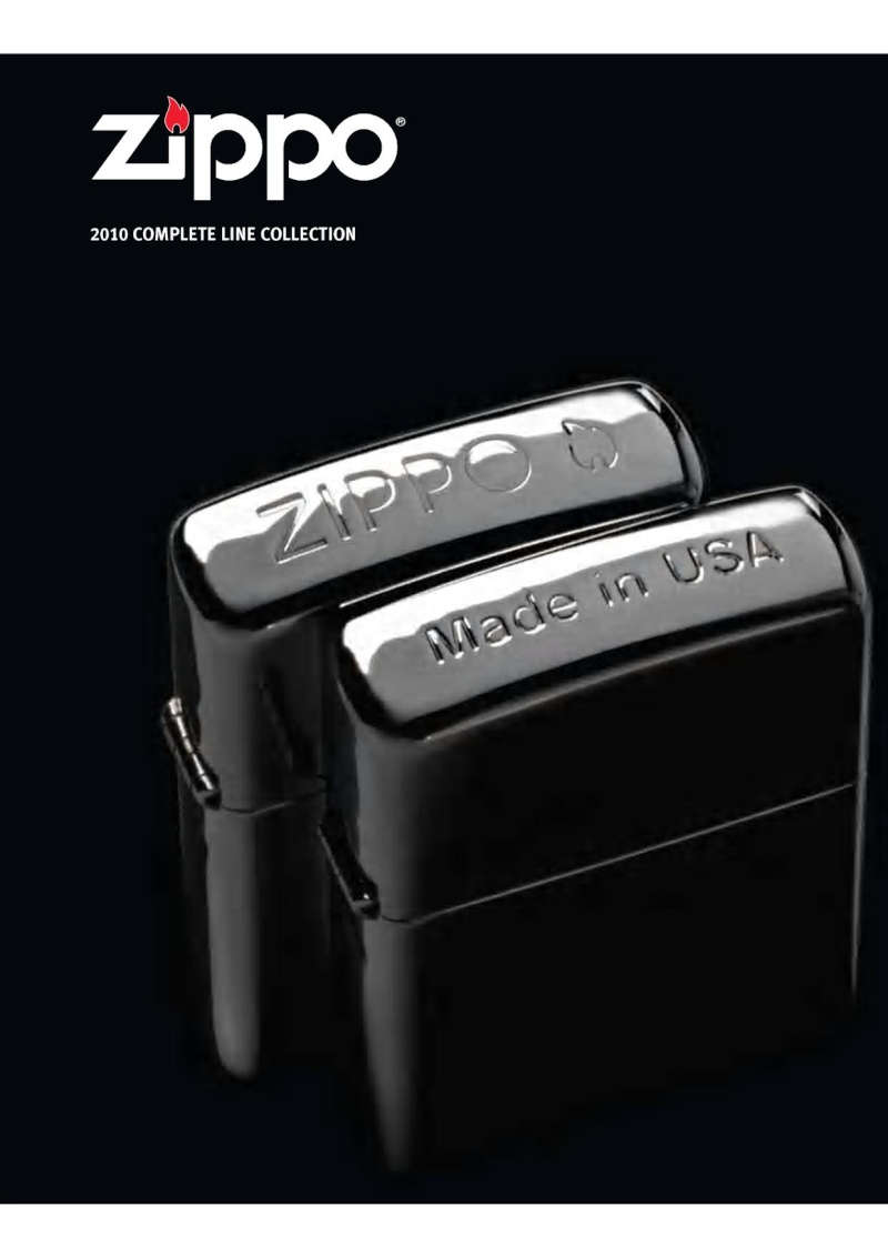 Catalogue ZIPPO 2010 Complete line (version américaine) 012