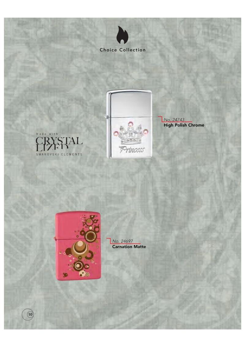 Catalogue ZIPPO 2009/10 Choice (version américaine) 1016