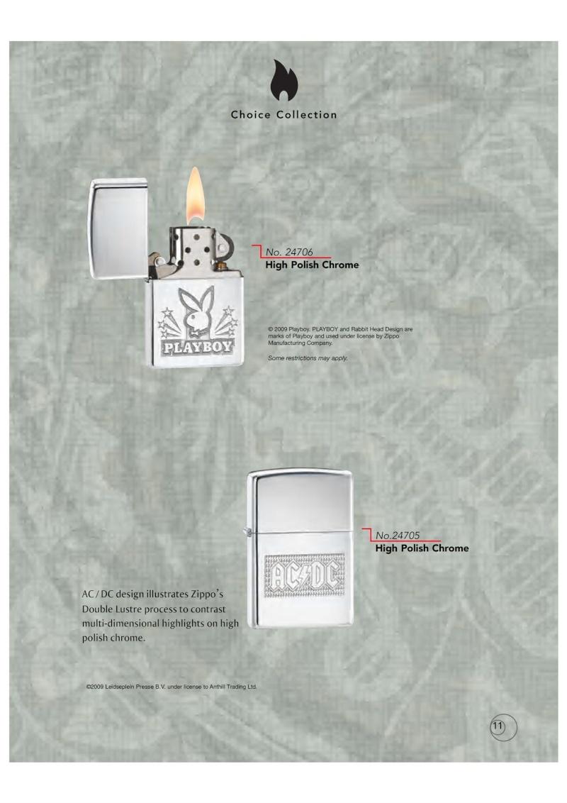 Catalogue ZIPPO 2009/10 Choice (version américaine) 1116