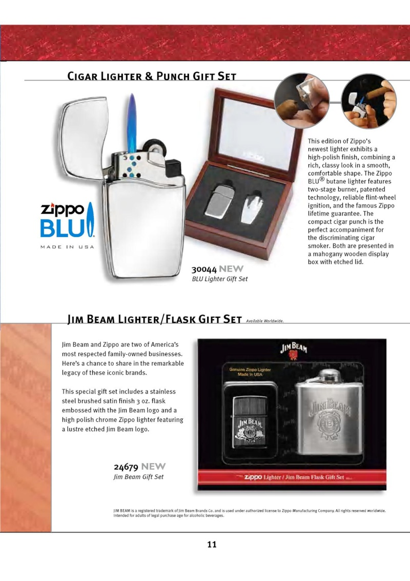 Catalogue ZIPPO 2010 Complete line (version américaine) 1117