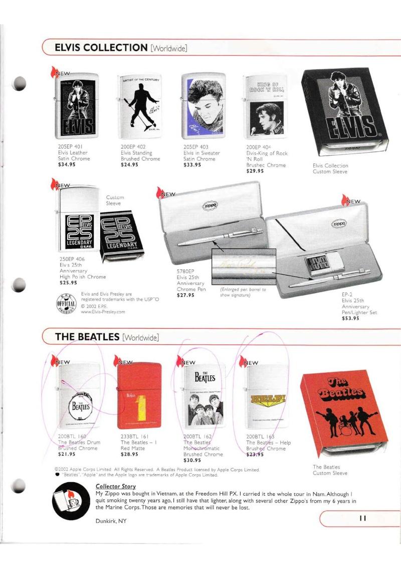 Catalogue ZIPPO Collection 2002 (version américaine) 1119