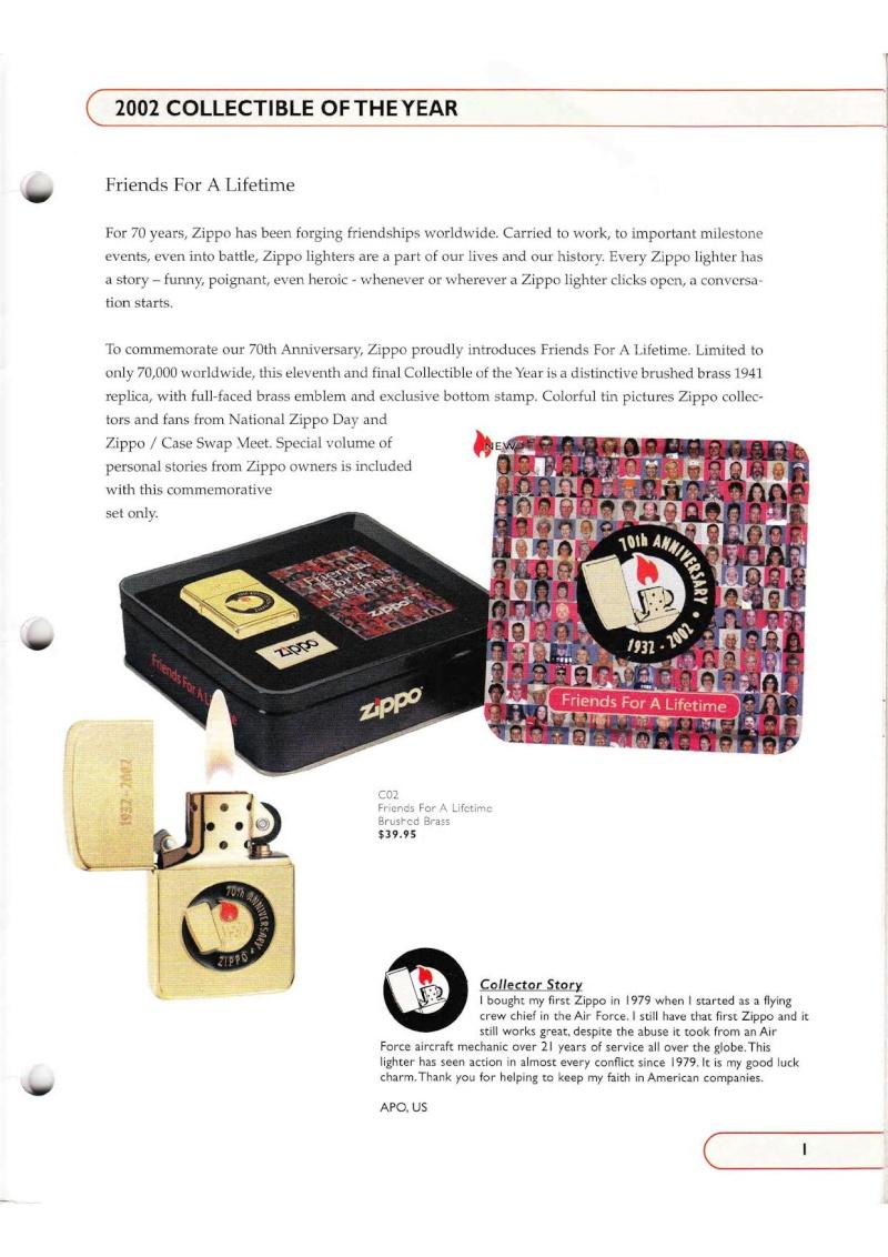 Catalogue ZIPPO Collection 2002 (version américaine) 115