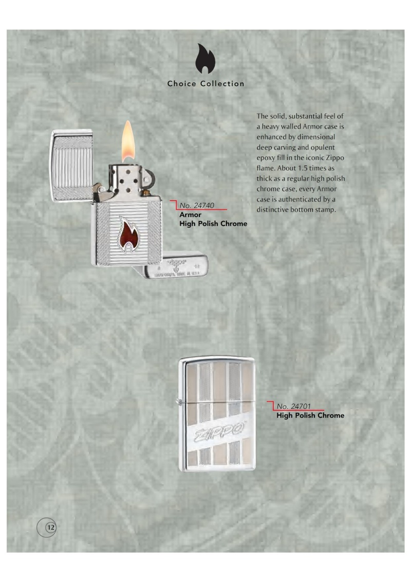 Catalogue ZIPPO 2009/10 Choice (version américaine) 1216
