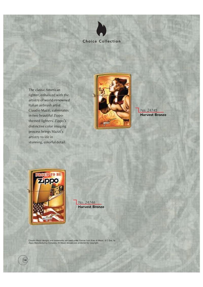 Catalogue ZIPPO 2009/10 Choice (version américaine) 1416
