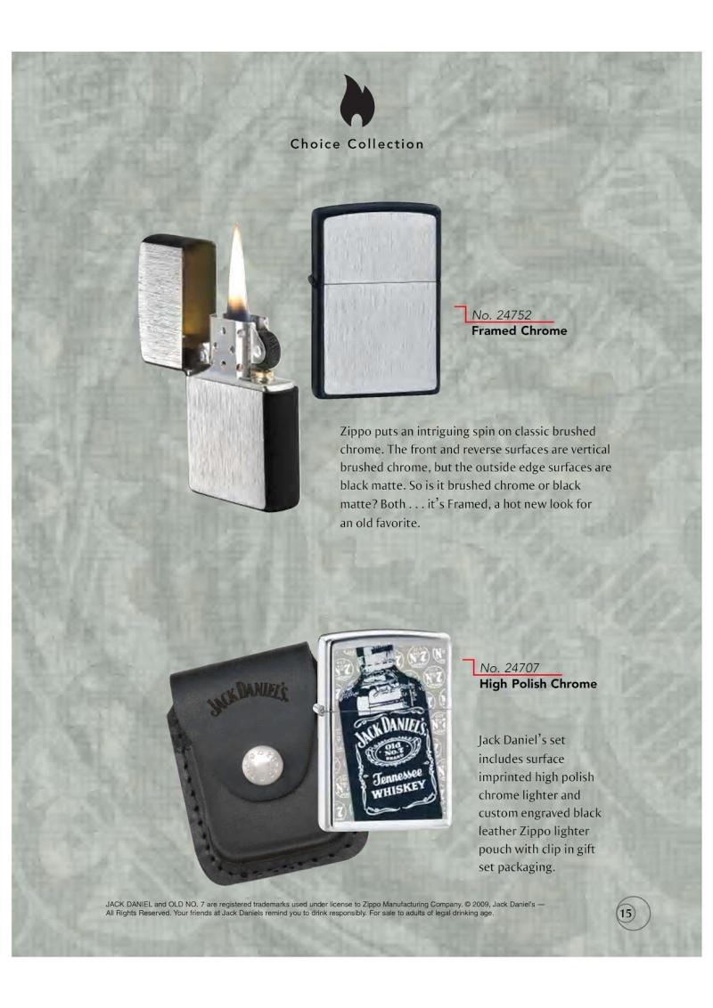 Catalogue ZIPPO 2009/10 Choice (version américaine) 1516