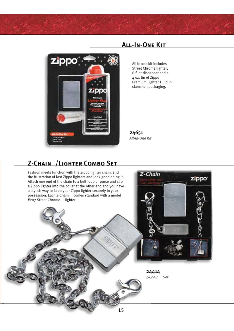 Catalogue ZIPPO 2010 Complete line (version américaine) 1517