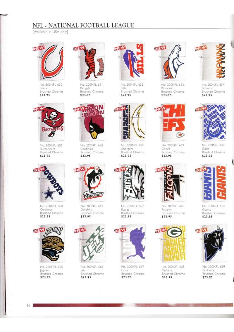 Catalogue ZIPPO Collection 2000 (version américaine) 1625
