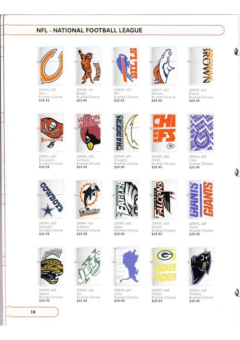 Catalogue ZIPPO Collection 2002 (version américaine) 1626